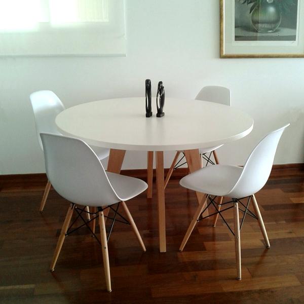 Mesa de comedor francis melam nico muebles online de dise o for Muebles on line uruguay