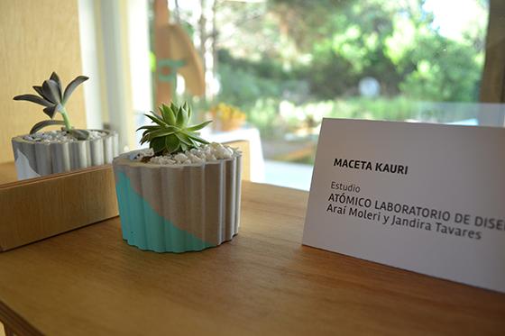 Macetas Kauri del Laboratorio de Diseño Atómico